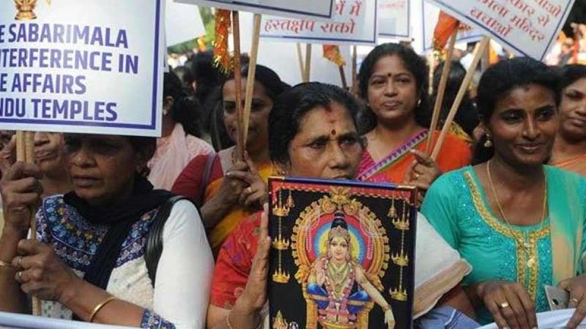 Clashes erupt at Sabarimala temple as woman approach lord Ayyappa shrine