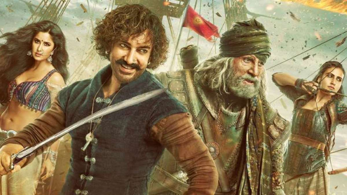 Poster of Thugs of Hindostan