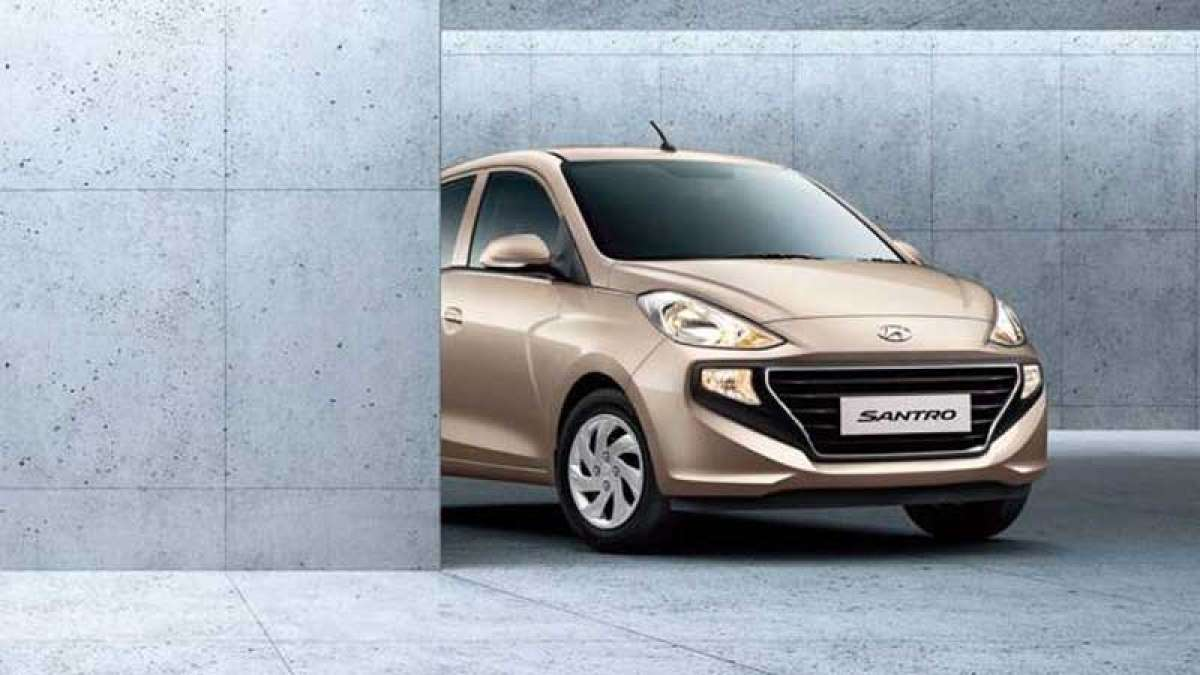 All new Hyundai Santro 2018