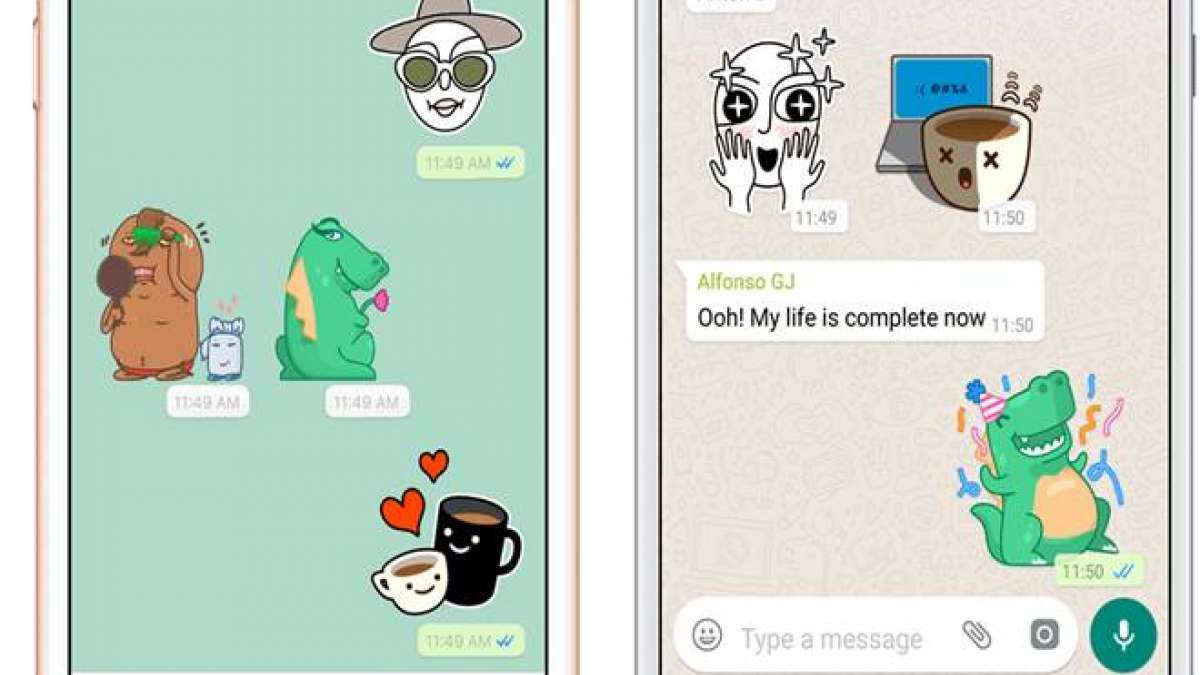 If you want to create customized WhatsApp stickers, then take a look at the following steps