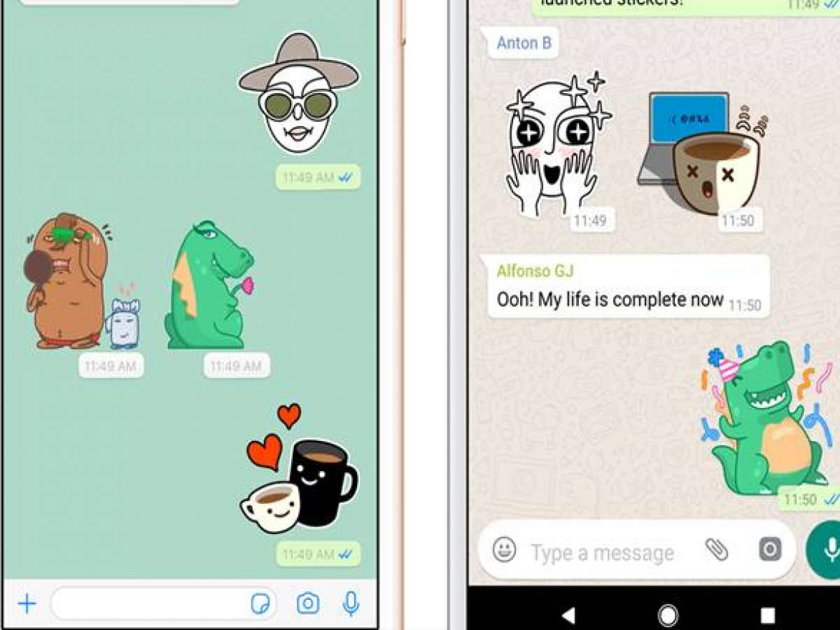 Whatsapp stickers spiced up with emojis and gifs heres how to create your own
