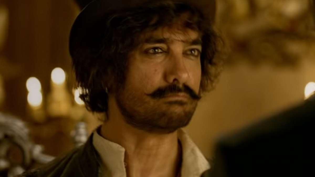 Still image of Aamir Khan in Thugs of Hindostan