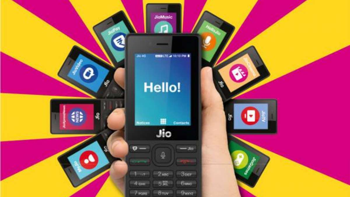 JioPhone (Representational image)