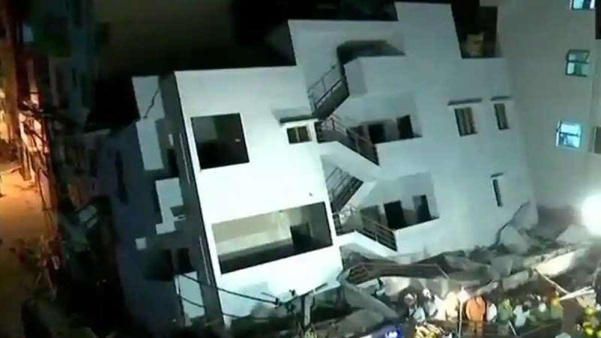 Under-construction building collapses in Bengaluru, 1 dead