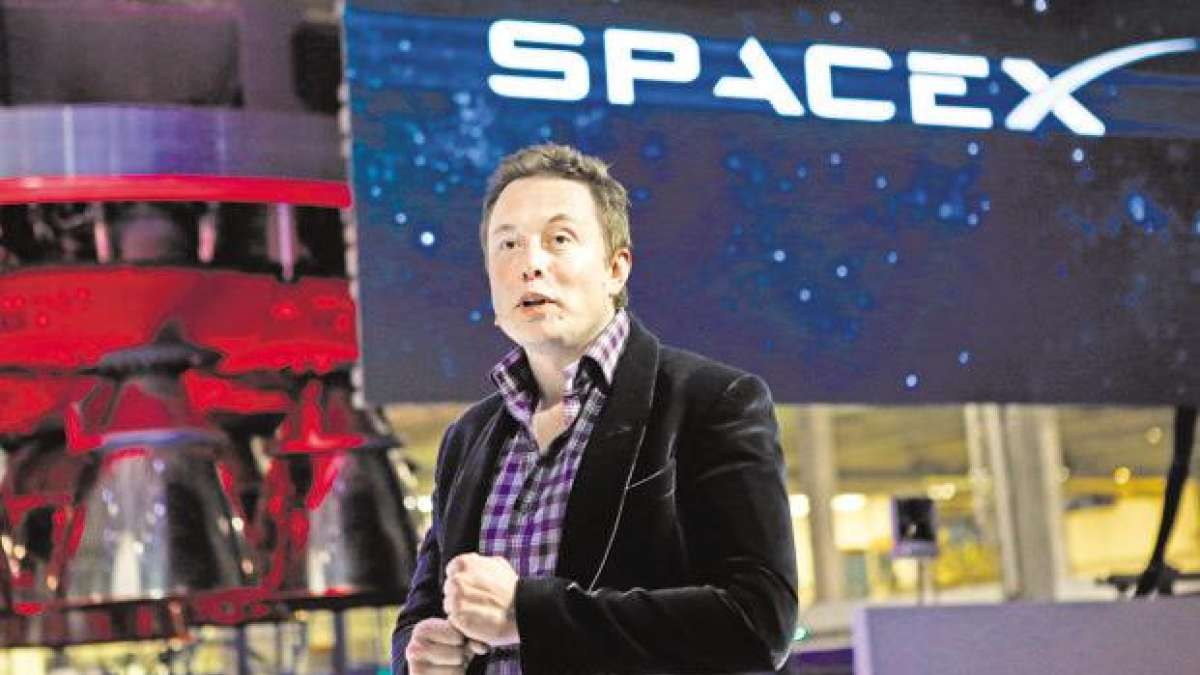 Elon Musk of SpaceX
