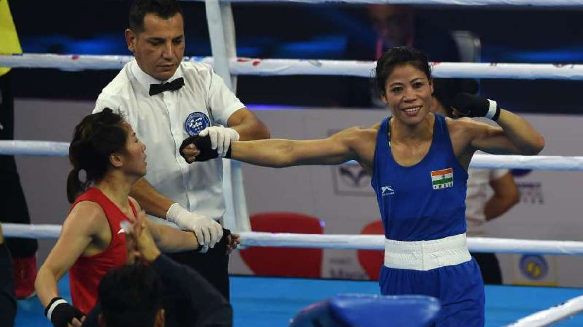Indian Olympic boxer Mary Kom
