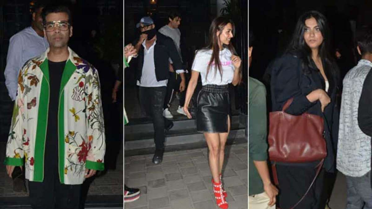 Arjun Kapoor hides face post dinner with Malaika Arora