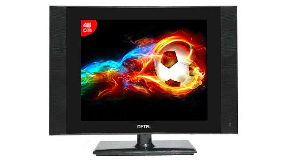 Detel D1: World's most economical LCD TV launched in India at Rs 3999