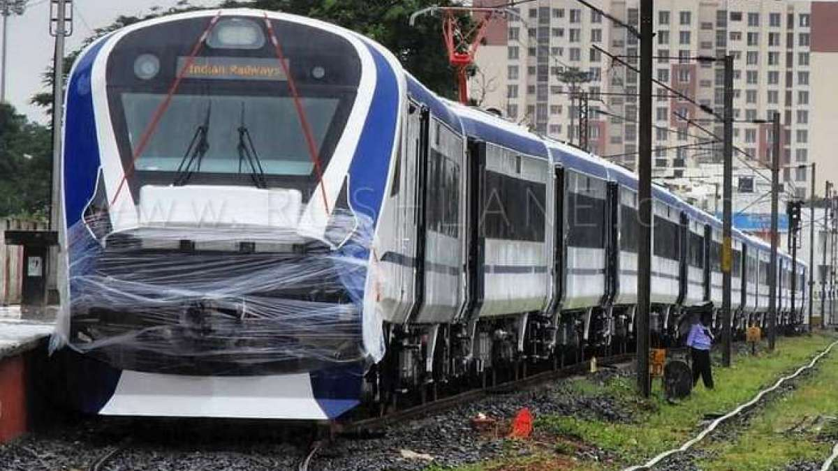 Train 18, India's engine-less train