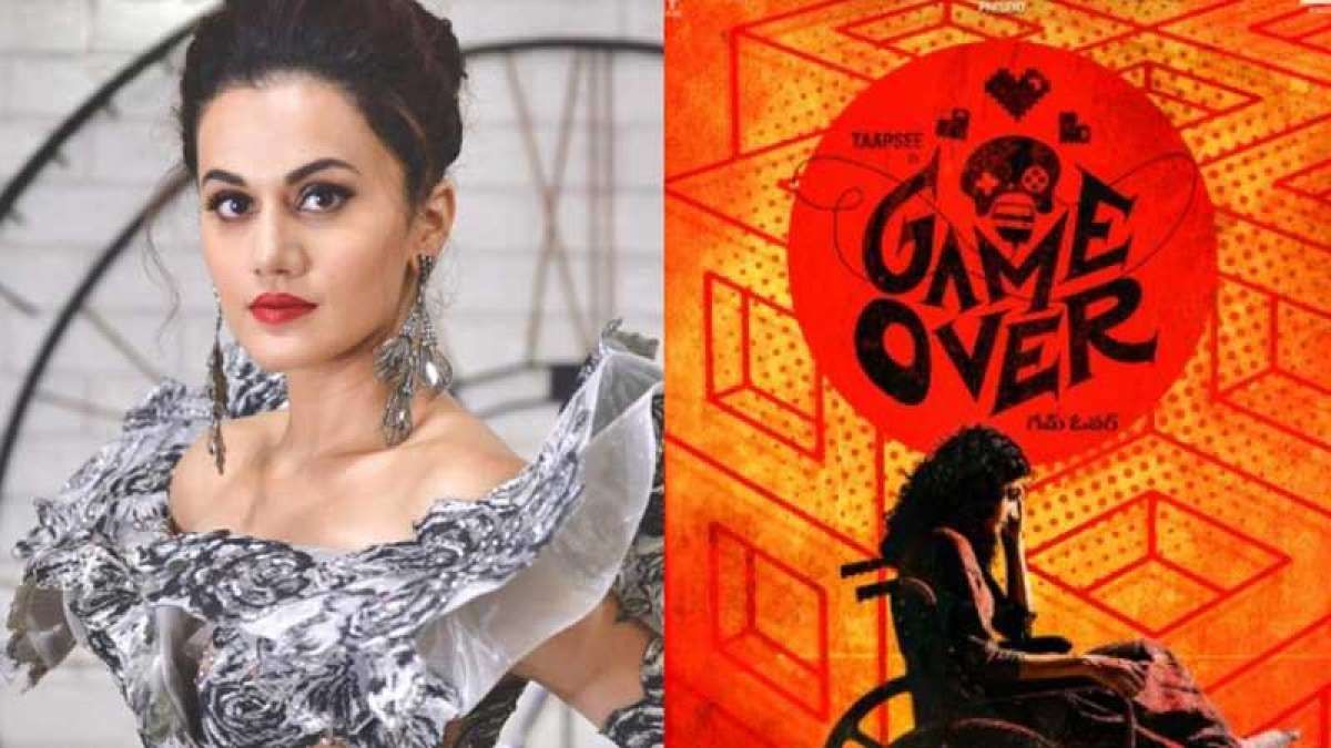 Taapsee Pannu wraps up shooting for 'Game Over'