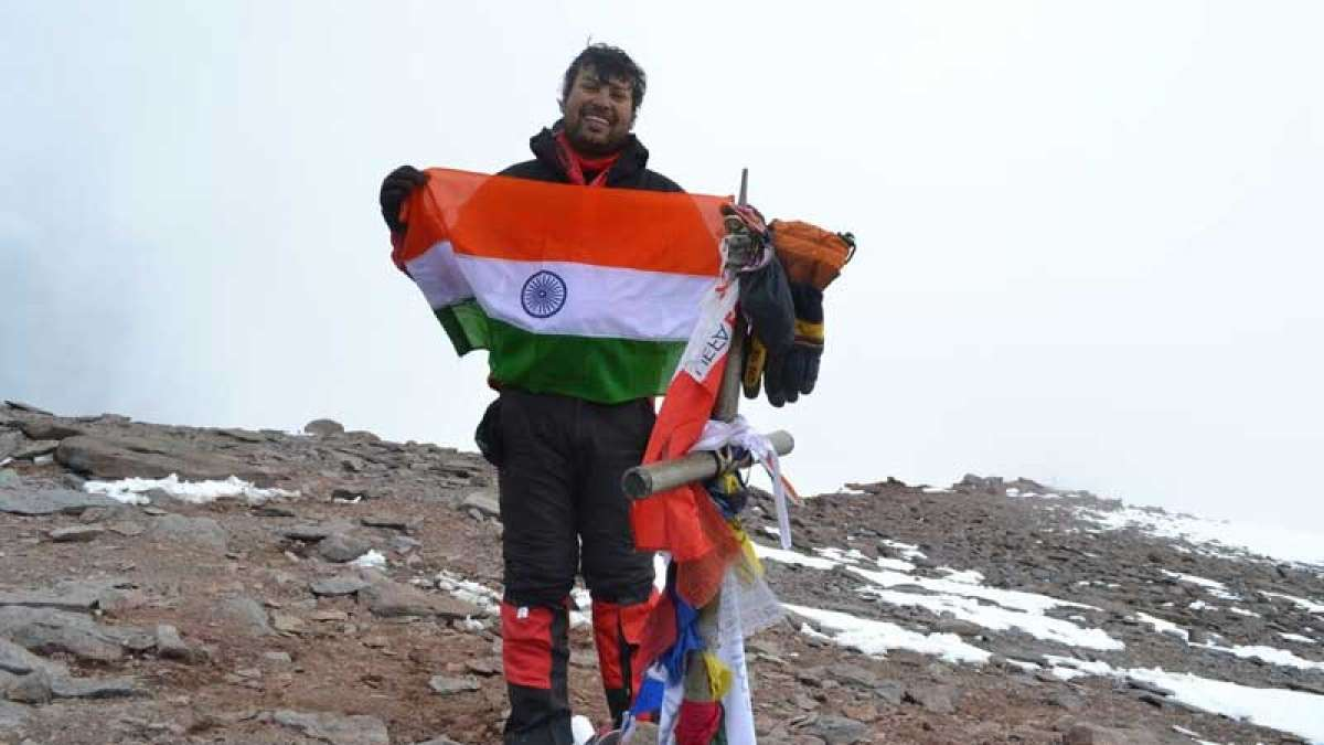 Mountaineer Satyarup Siddhanta set to break Guinness World Record