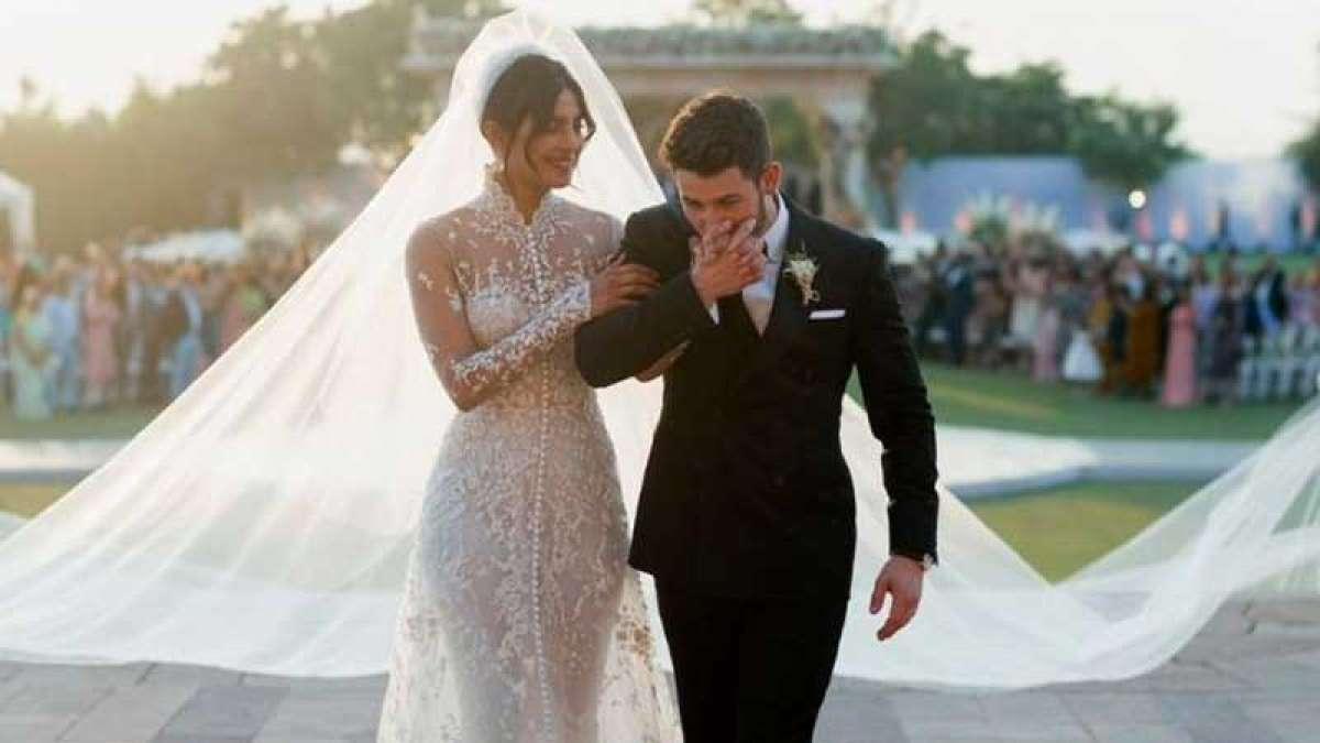 Watch Video: Nick Jonas in tears as Priyanka Chopra walks to him