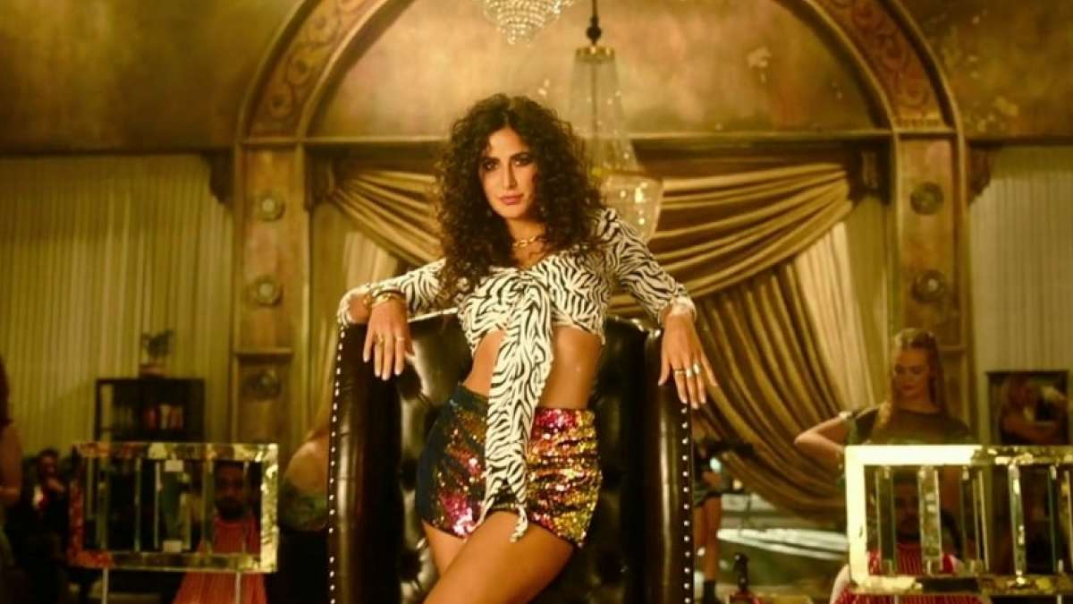 Katrina Kaif in her solo number Husn Parcham