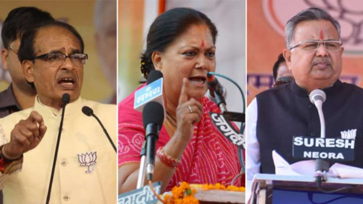 Election Results 2018: Congress leads in Rajasthan, trails in Telangana, stiff fight in MP