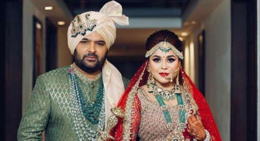 Kapil Sharma ties knot with Ginni Chatrath