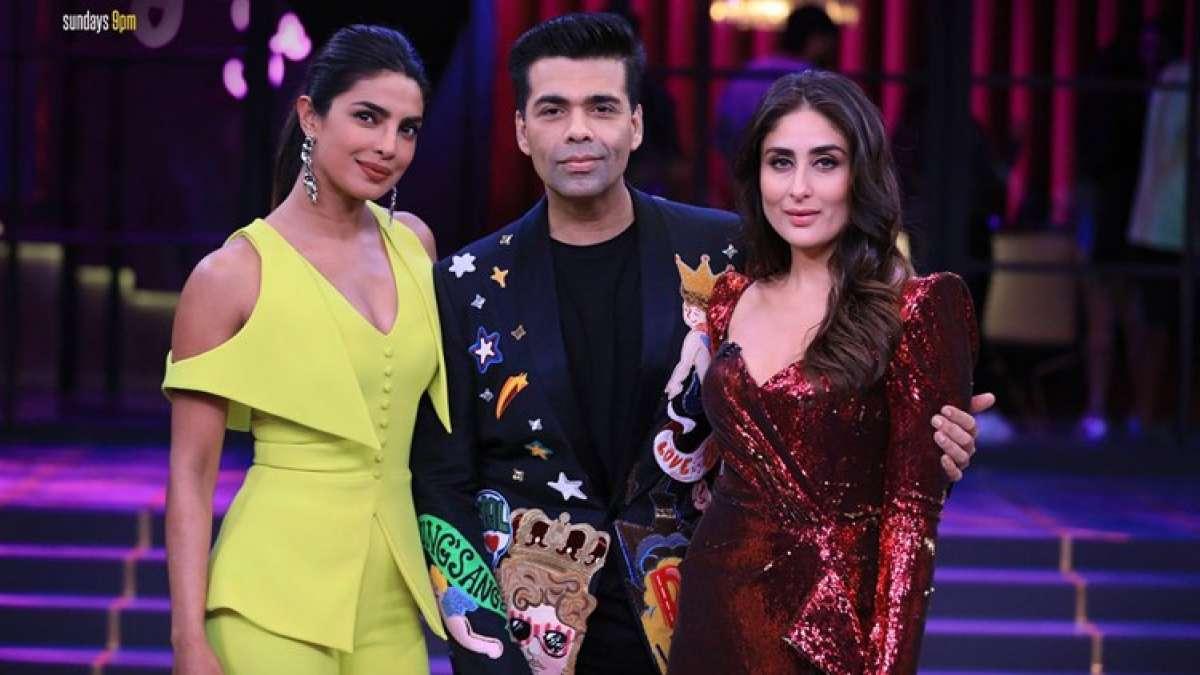 Koffee with Karan 6 grand finale with Kareena Kapoor Khan and Priyanka Chopra