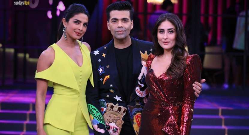 Koffee with Karan 6 grand finale with Kareena Kapoor Khan and Priyanka Chopra