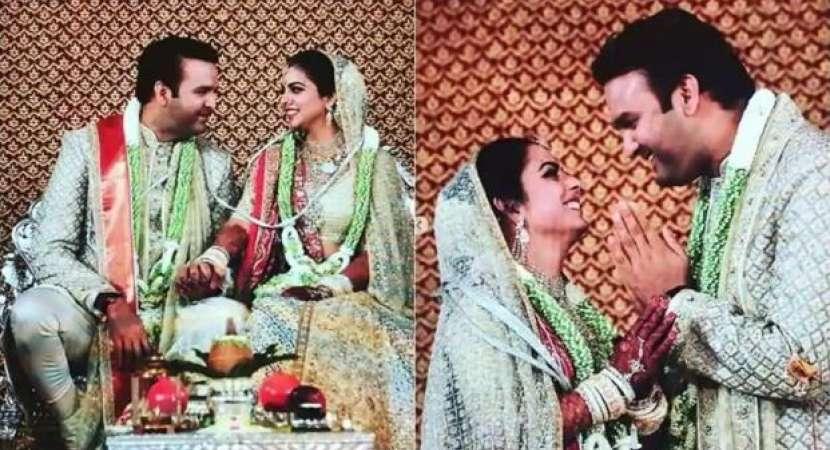 Isha Ambani got married to Anand Piramal on December 12