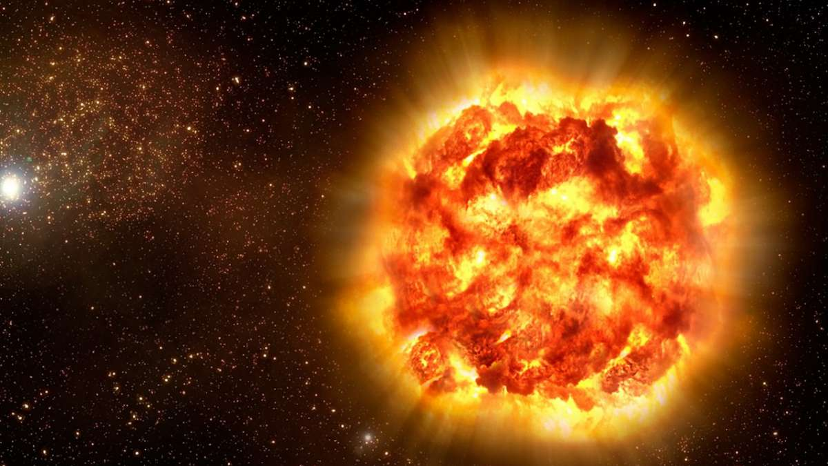 A new research indicates a link between the supernovae and the extinction of marine animals