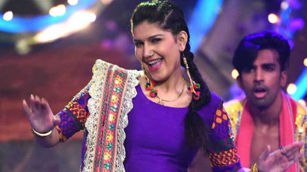 Haryanvi sensation Sapna Choudhary is third most search personality of the year