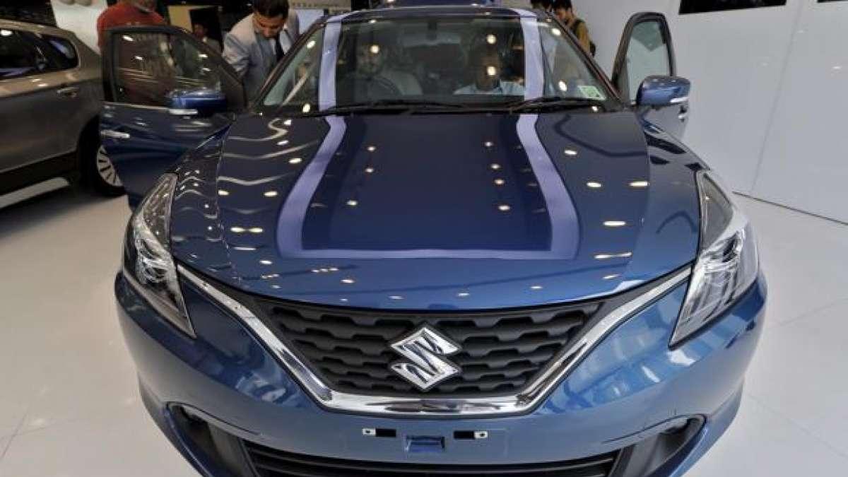 The Maruti Suzuki Baleno. Photo: Reuters