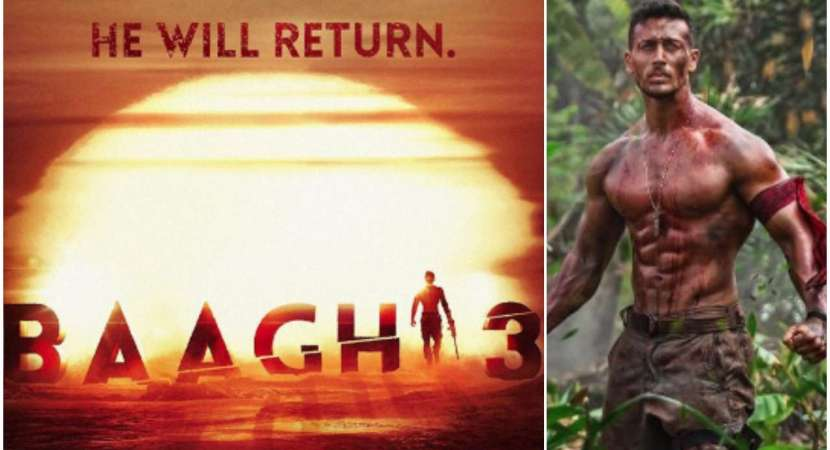 Tiger Shroff's 'Baaghi 3' is coming! Release date out