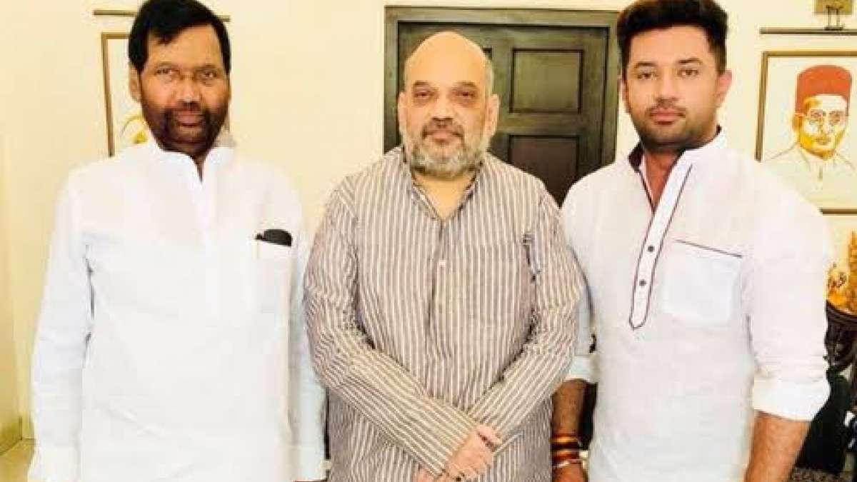 Jaitley, Shah meet Paswans over Bihar seat-sharing