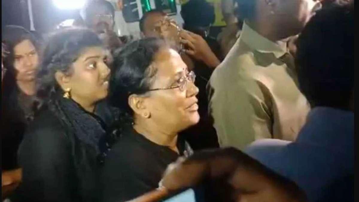 11 women reach Sabarimala base camp amid protests