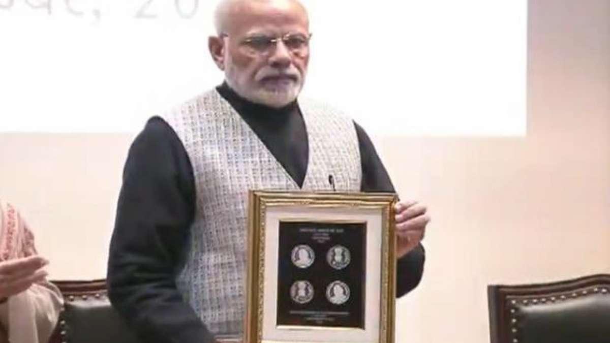 PM Narendra Modi releases Rs 100 coin in Atal Bihari Vajpayee's memory