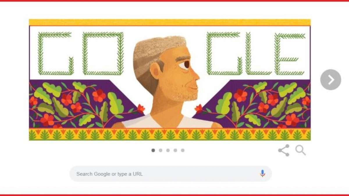 Google remembers social activist Baba Amte