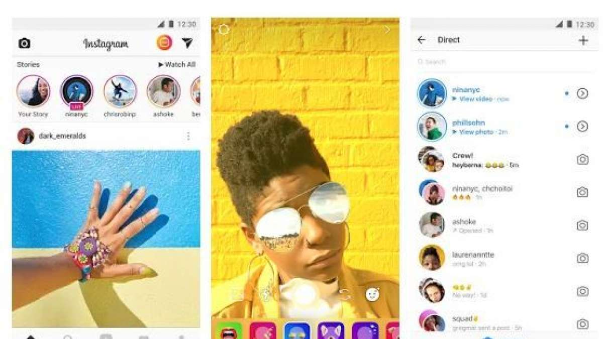 Photo editing app in Instagram allows users to adjust sharpness, adjust saturation, contrast and more.