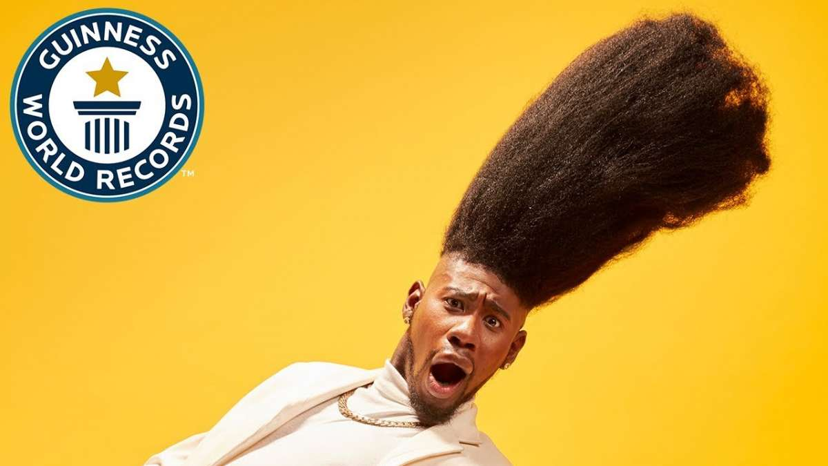 Benny Harlem's tallest high top fade