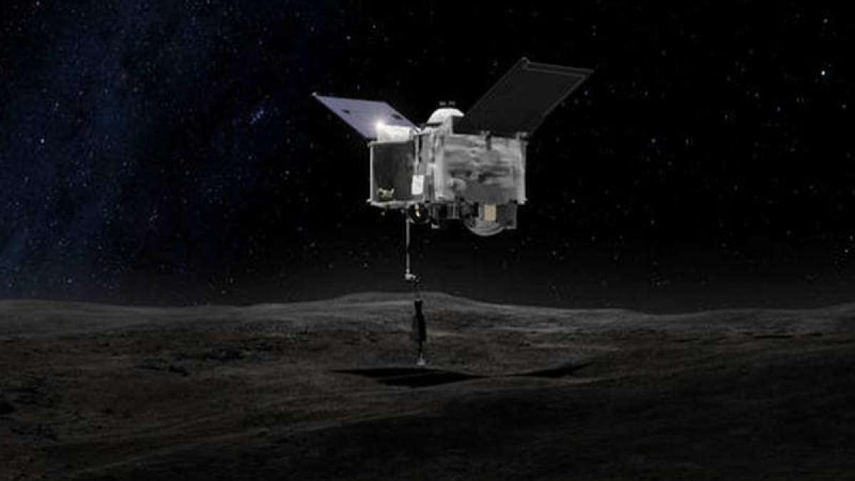 NASA spacecraft's first orbit around asteroid Bennu breaks record