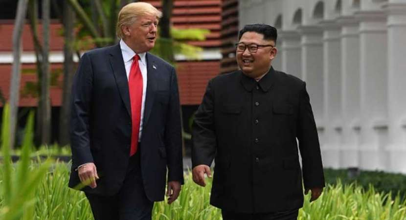 Trump receives Kim Jong-un's letter, expects meeting in near future