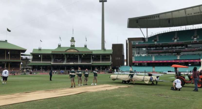 India vs Australia 4th Test: Rain washes out morning session on Day 5