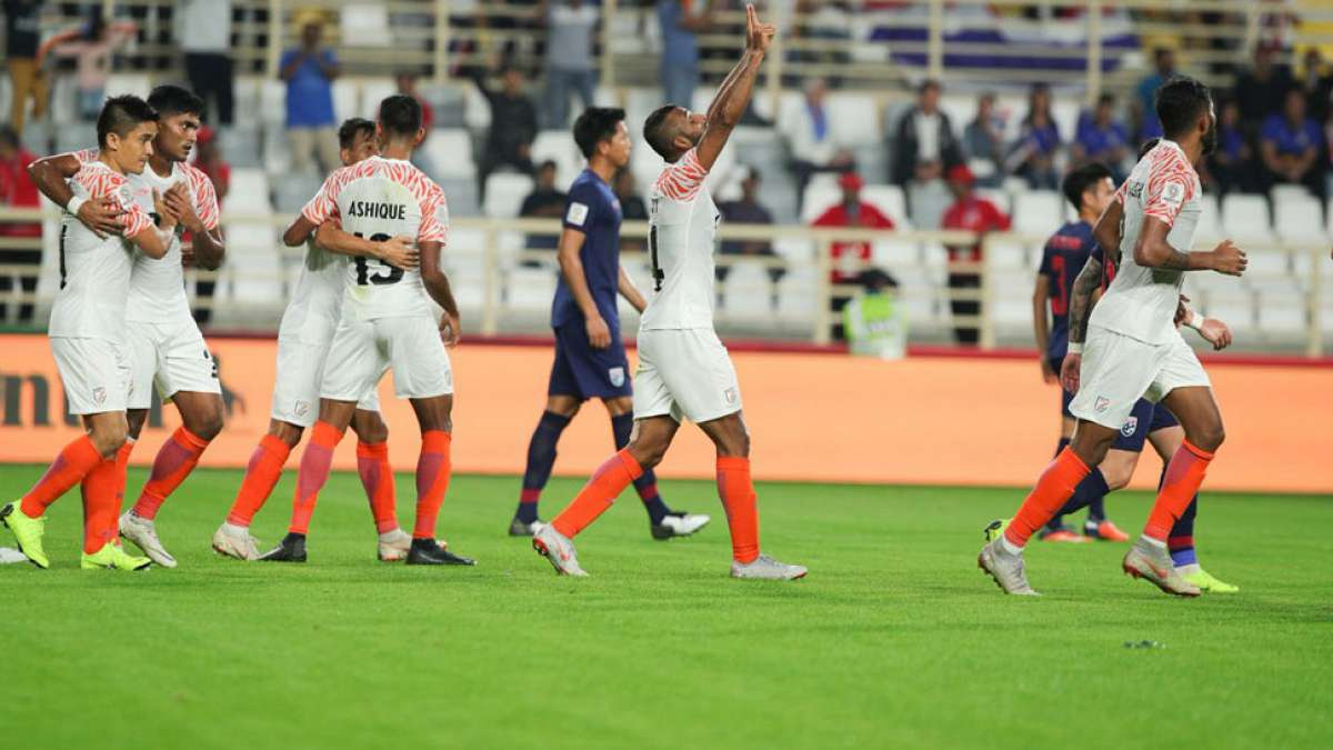 AFC Asian Cup 2019 India vs Thailand: India overpower Thailand in campaign opener