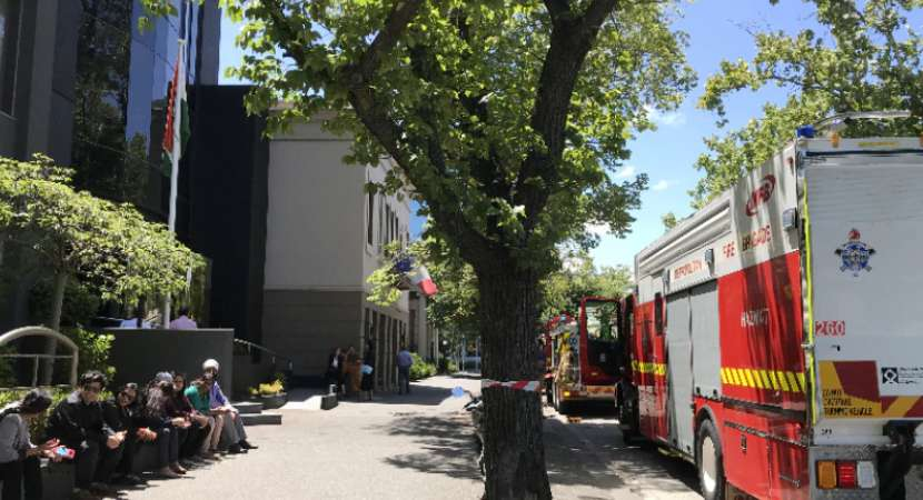Suspicious packages delivered at 10 embassies in Australia