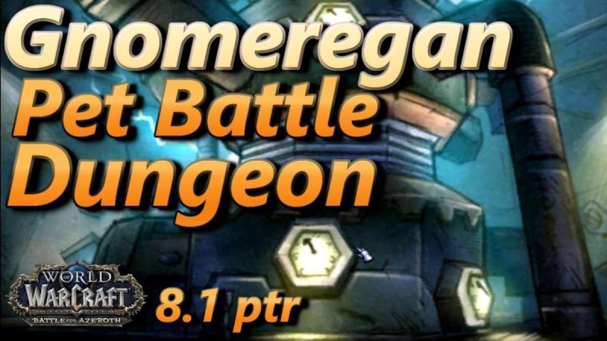New Pet Battle Dungeon: Gnomeregan