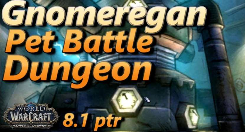 New Pet Battle Dungeon: Gnomeregan