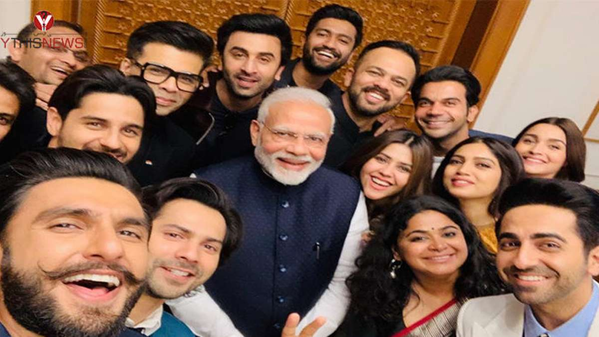 Delegation of actors, filmmakers meets PM Narendra Modi in Delhi