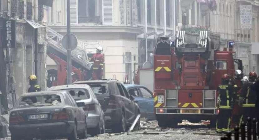 Gas explosion at Paris bakery kills at least 4