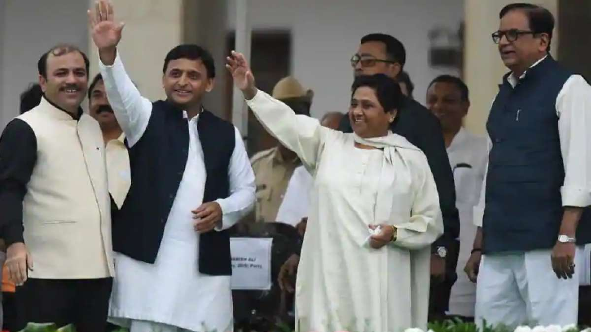 Mayawati announces BSP tie-up with SP in Lok Sabha polls