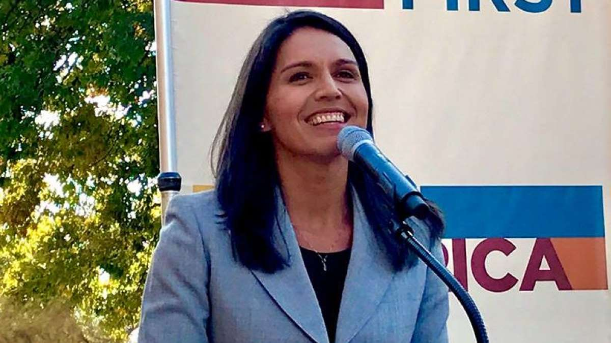 Tulsi Gabbard, first Hindu, to fight Donald Trump in 2020 elections for US President post