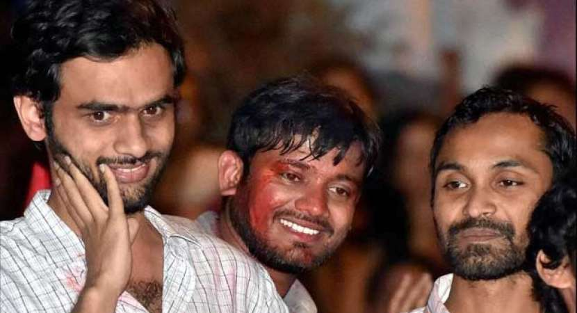JNU sedition case: Chargesheet filed against Kanhaiya Kumar, Umar Khalid and others