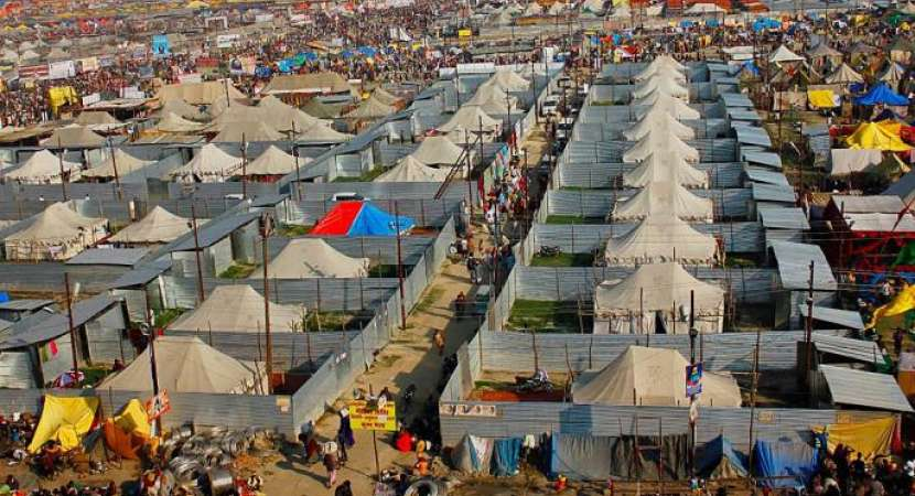 Prayagraj: All roads lead to Sangam as Kumbh Mela 2019 opens on Tuesday