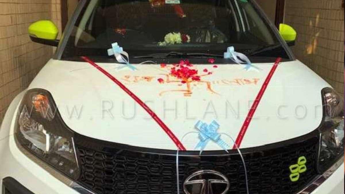 Tata Nexon Kraz 'Calgary White' launched, delivery begins (Image: Rushlane)