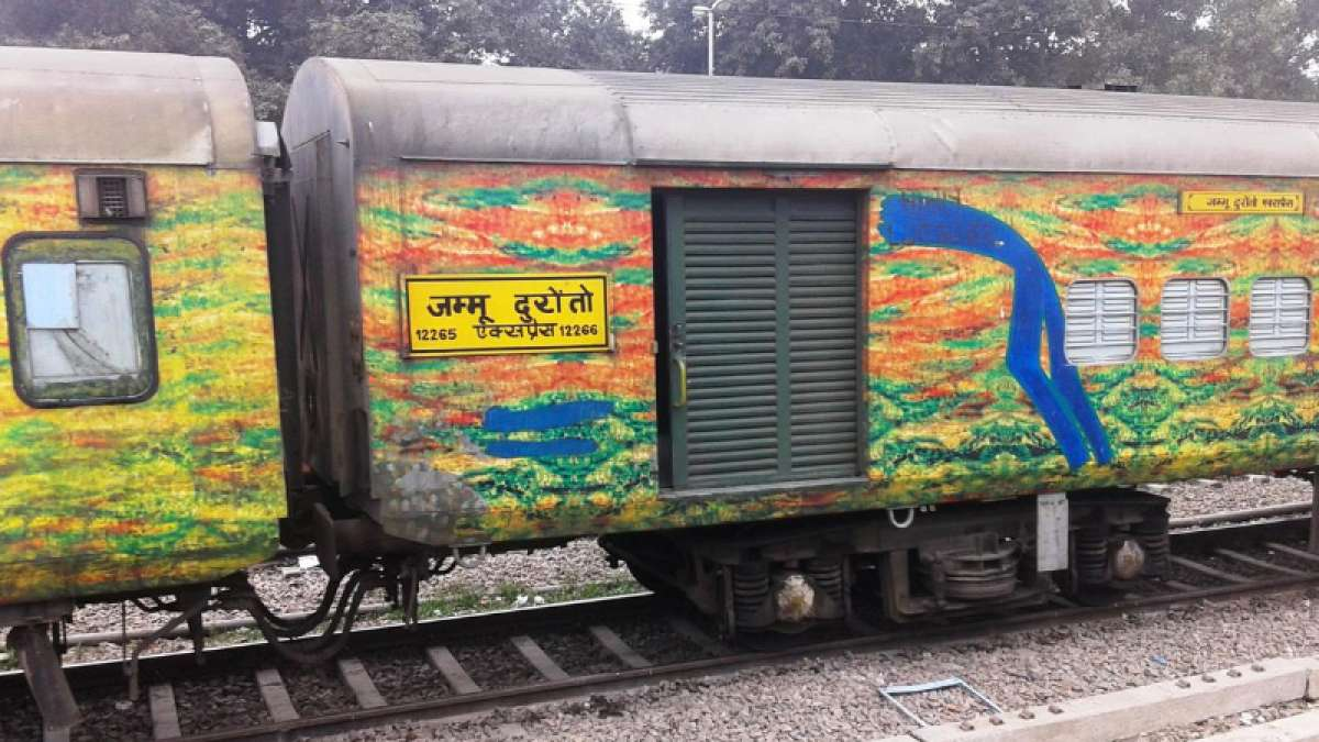 Armed gunmen loot passengers in two coaches of Jammu-Delhi Duronto Express