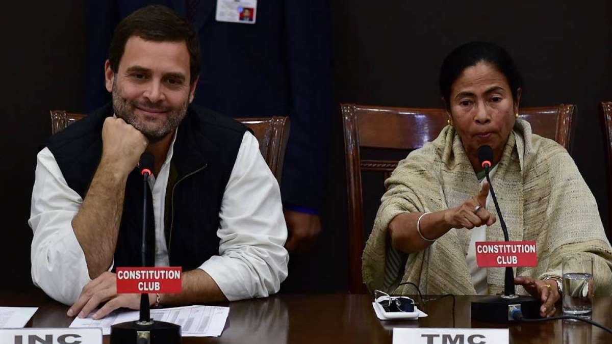 Rahul Gandhi and Mamata Banerjee (Representational image)