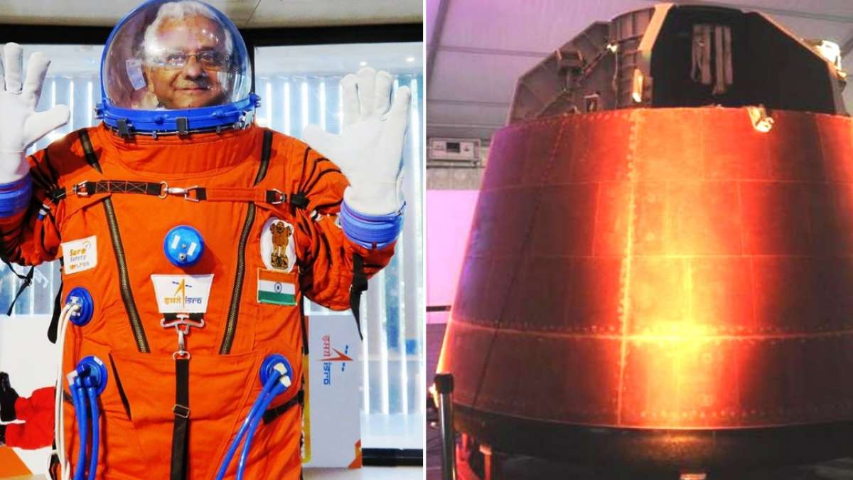 The space suit for Gaganyaan mission has been designed by Sure Safety, a Vadodara-based industrial safety equipment manufacturer