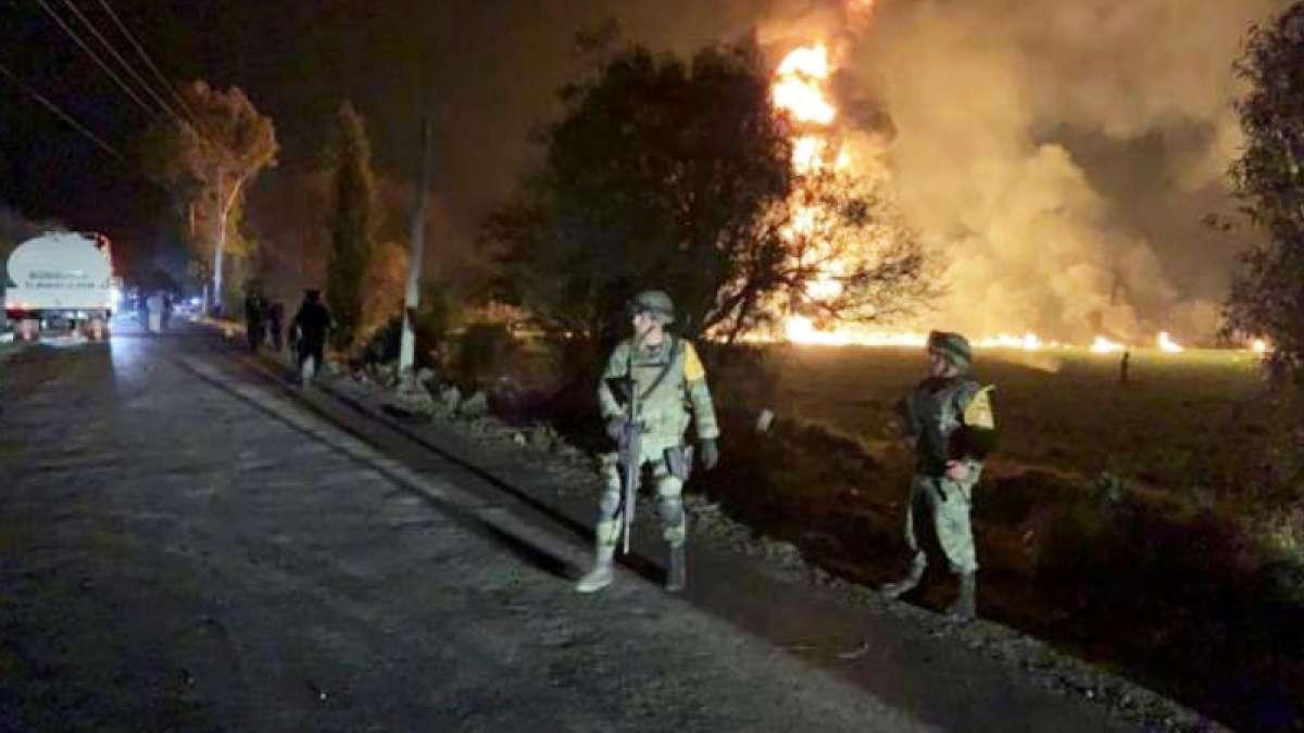 Mexico gasoline pipeline blast death toll reaches 85